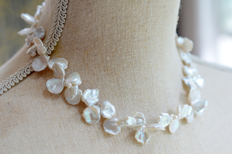 Keshi Pearl Single Strand