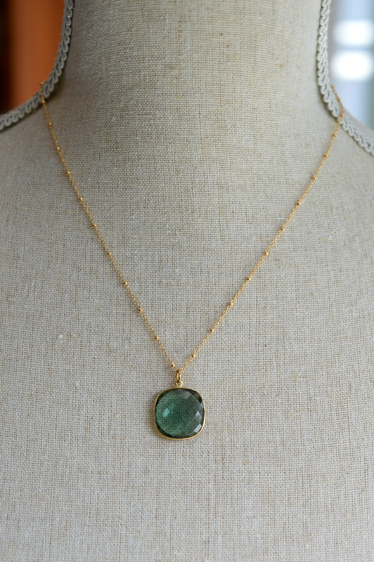 Sea Green Chalcedony Bezel