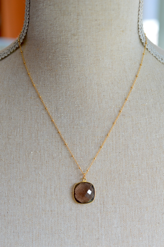 Smokey Quartz Bezel